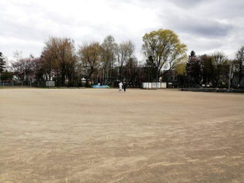 野球場全体。