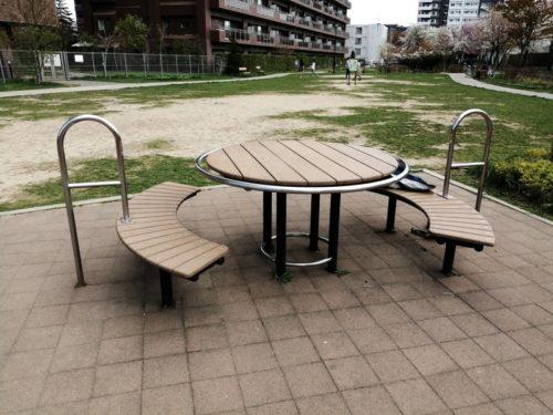 テーブルベンチセット