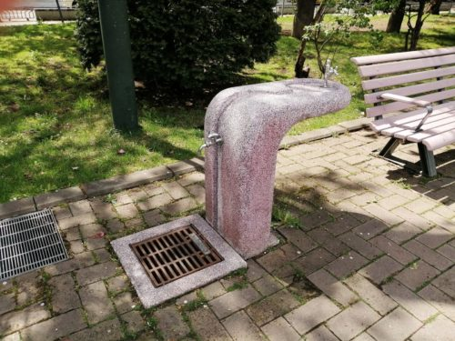 水飲み場が設けられています。
