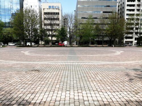 多目的な利用が可能な広場が設けられています。