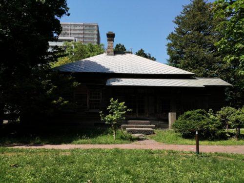 旧永山邸庭園側