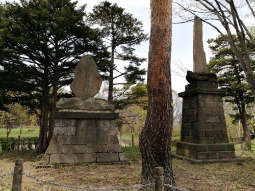 開町五十年記念碑、吉田善太郎功労碑