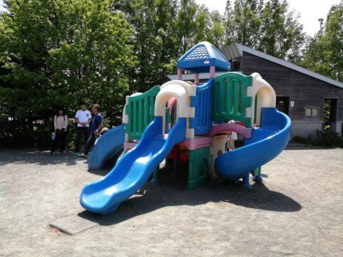 幼児も遊べるコンビネーション遊具
