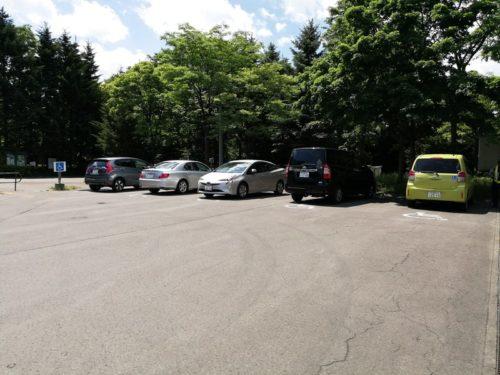 障害者専用駐車スペース
