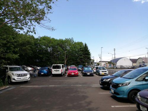 P3駐車場(東駐車場)全体