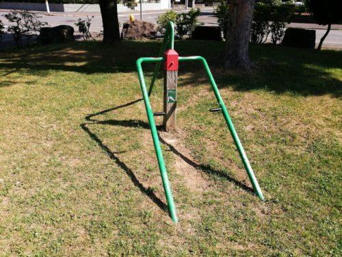 ジャンプアンドトレーニングアームの健康遊具