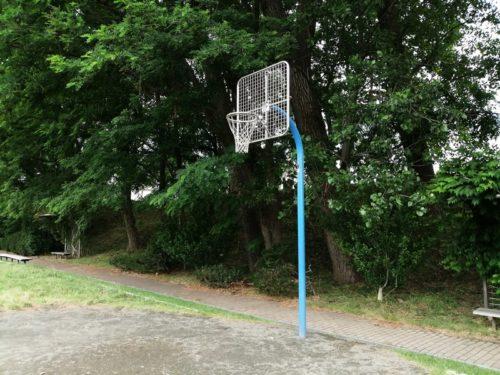 ゴールネット部分がネットのバスケットゴール