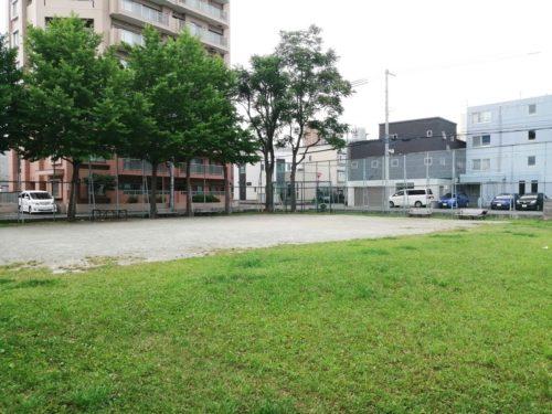 多目的な利用が可能な広場