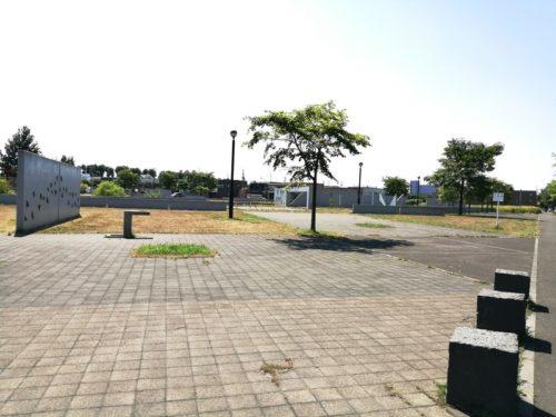 幼児用プレイロット広場
