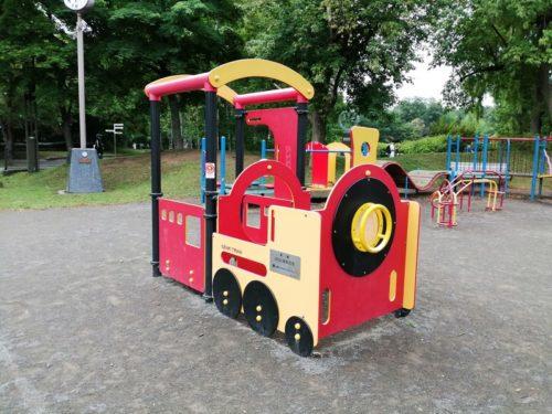 汽車の遊具