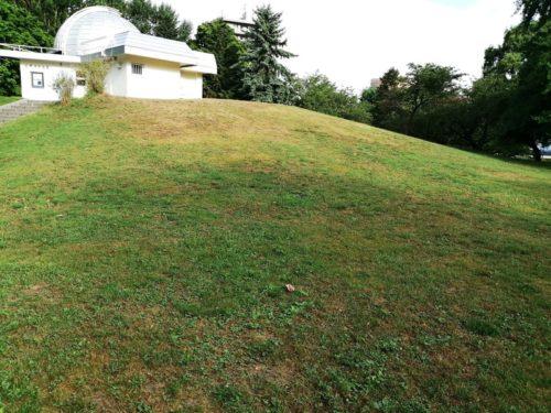 展望台の丘