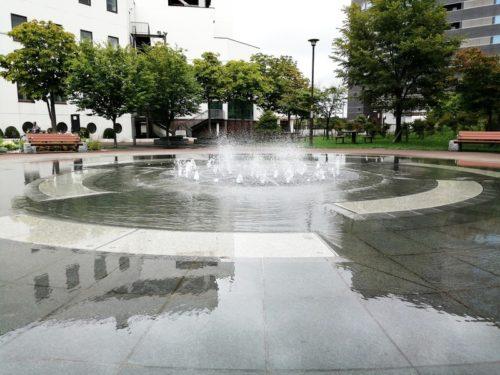 キラ★キラ広場噴水池