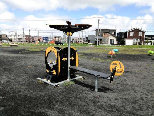 ヘリコプターの遊具