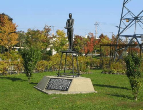 慰霊碑「藻岩犠牲者の碑」
