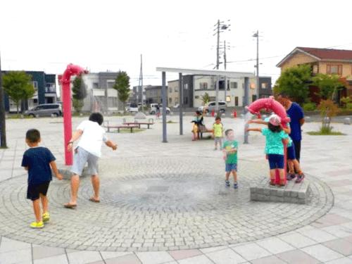 水遊び場(徒渉池)