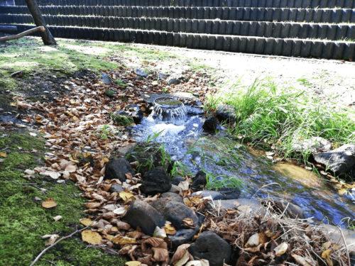 水遊び場(遊水路)