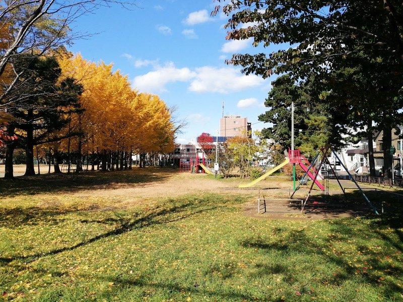 平和公園:豊平区の全体。