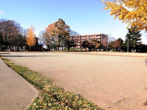 グランウドの多目的広場