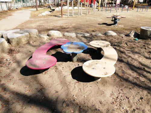 砂場内遊具