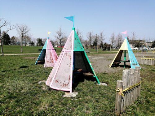 テント型ハウス遊具