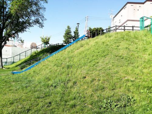段丘の斜面