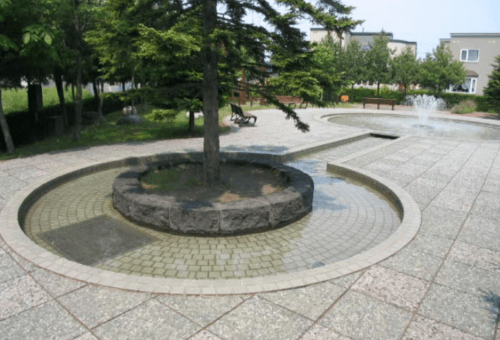 水遊び場(噴水池)
