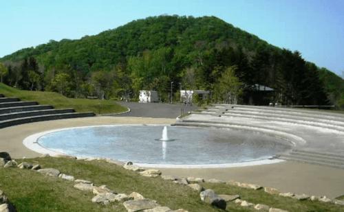 水遊び場(遊水池)