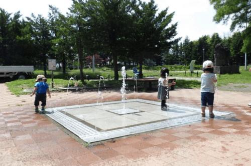 水遊び場(噴水)