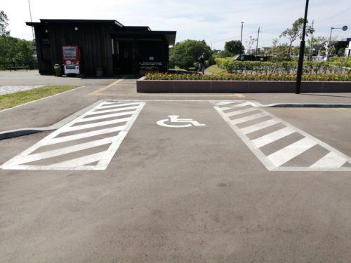 障害者用駐車スペース